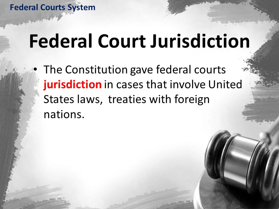 Federal Court Jurisdiction