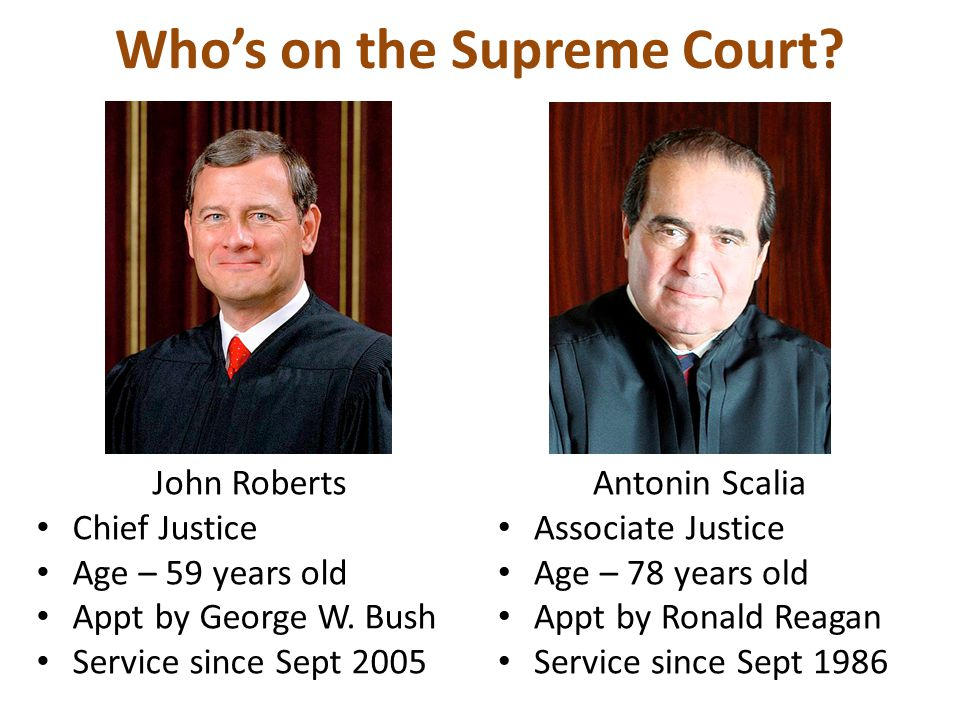 Who's on the Supreme Court