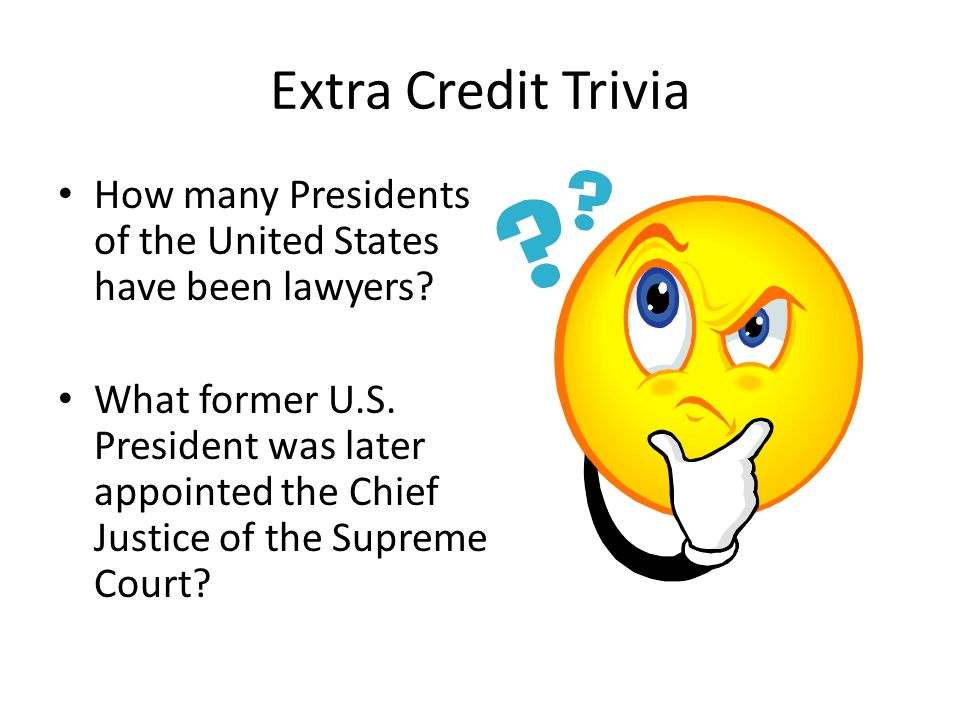 The Federal Court System Ppt Download - United states trivia