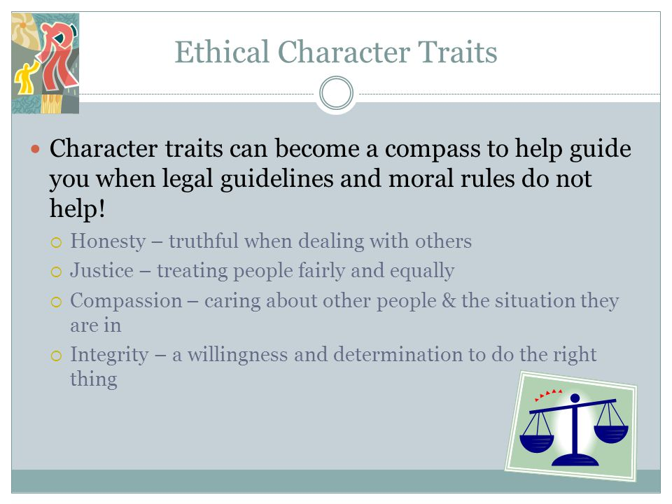 Ethical Character Traits