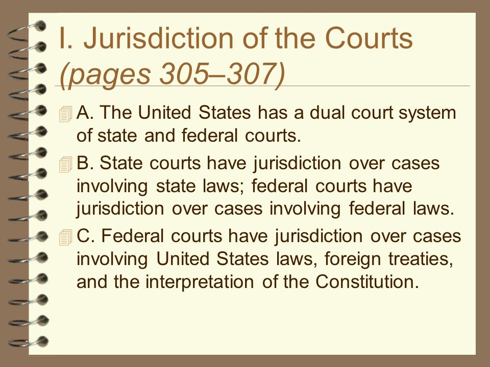 About Federal Courts
