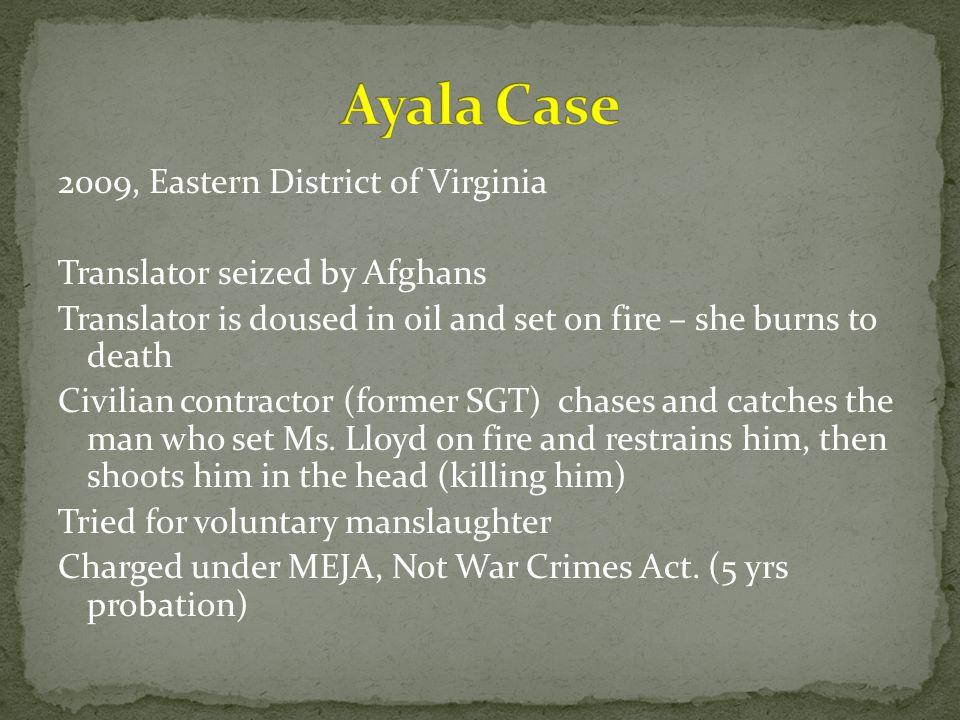 Ayala Case