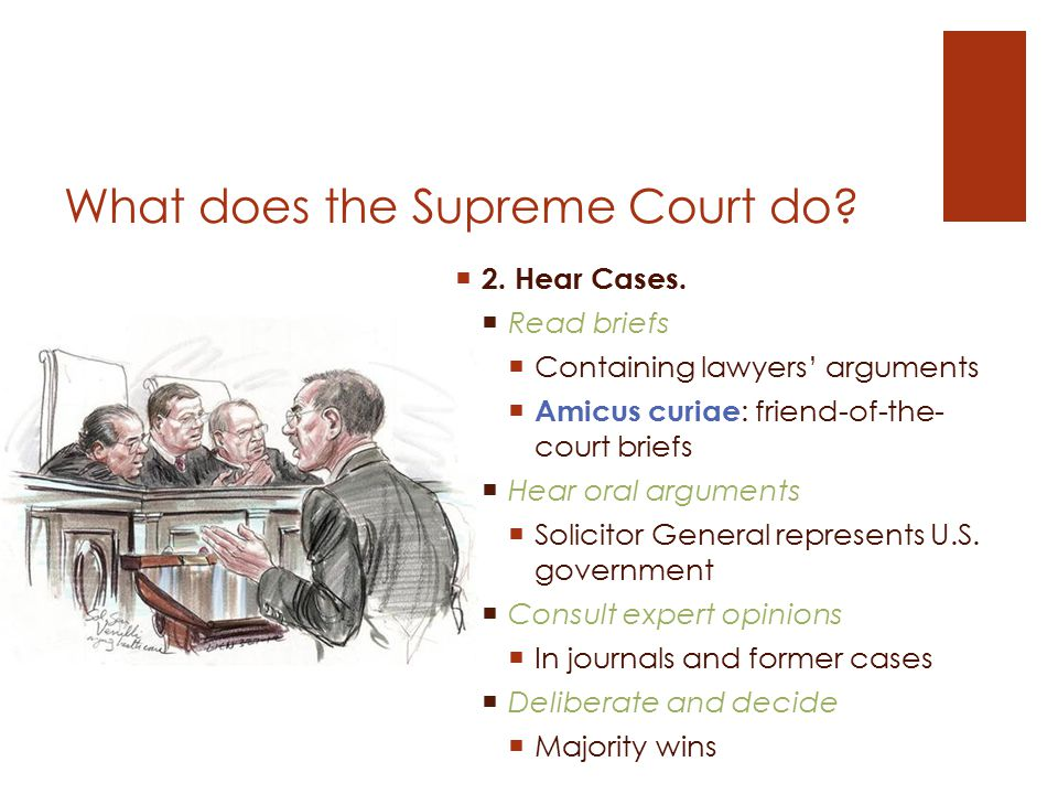 What does the Supreme Court do