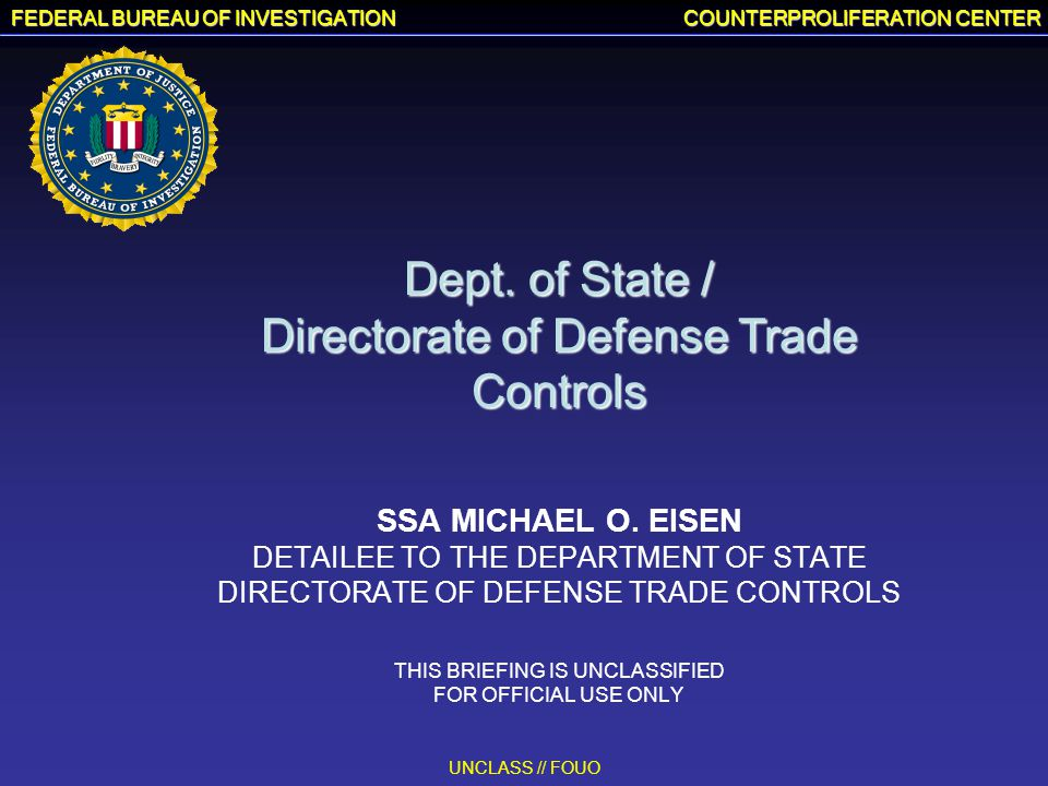Directorate of Defense Trade Controls