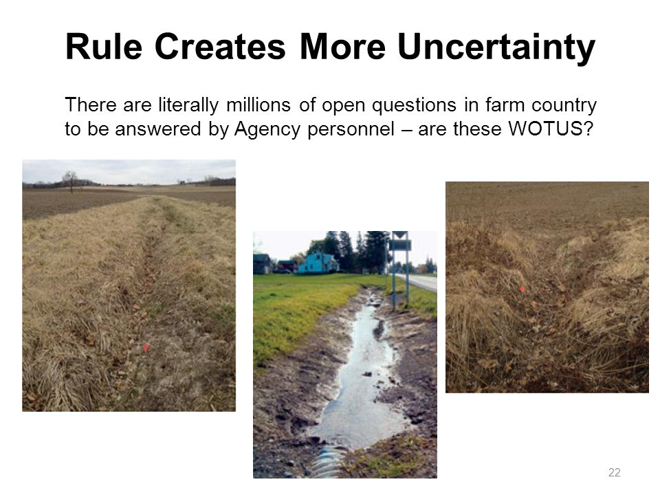 Rule Creates More Uncertainty