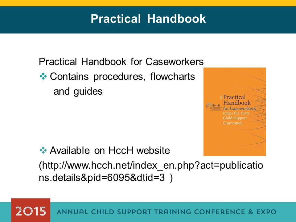Practical Handbook Practical Handbook for Caseworkers