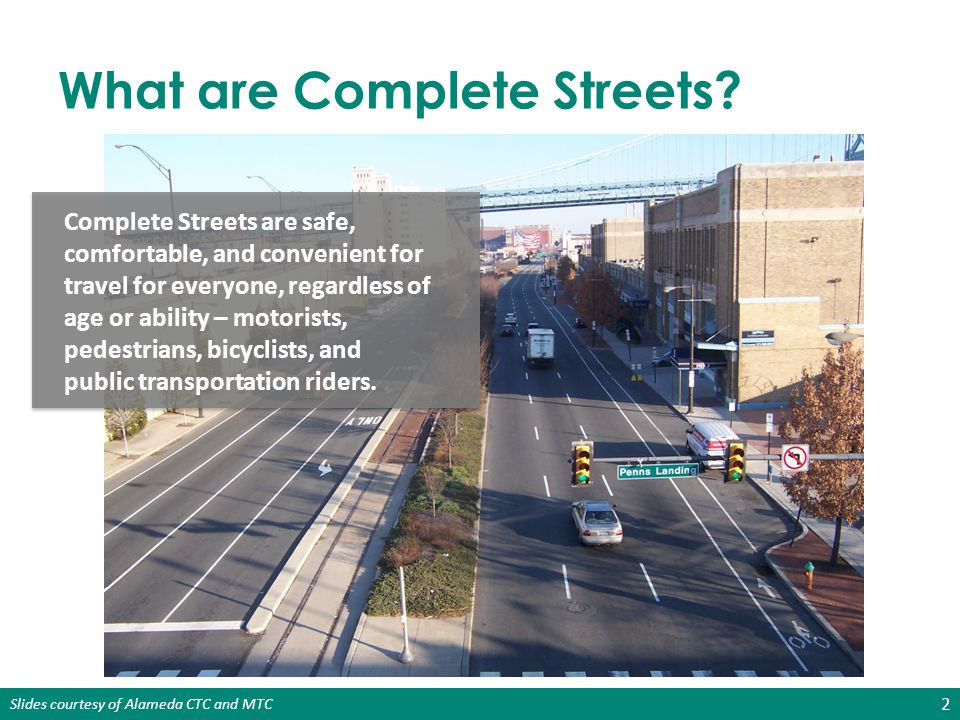 What are Complete Streets
