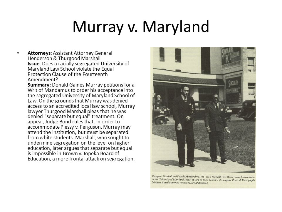 Murray v. Maryland