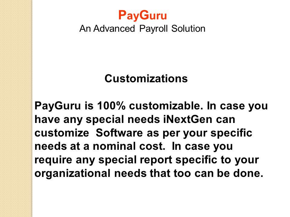 PayGuru An Advanced Payroll Solution