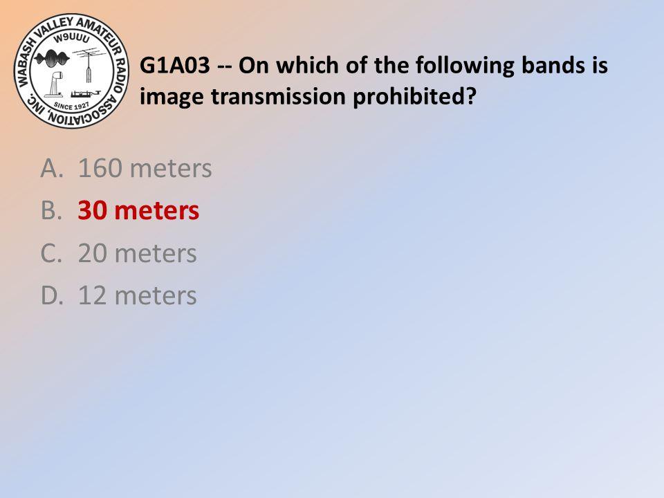 A. 160 meters B. 30 meters C. 20 meters D. 12 meters