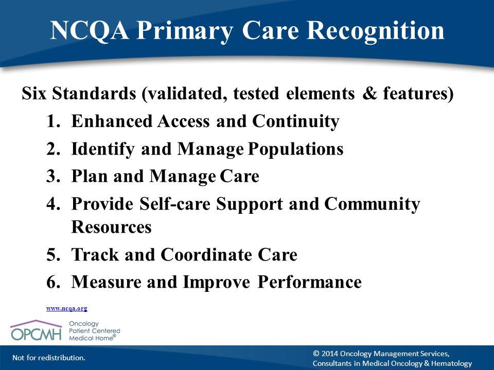 NCQA Primary Care Recognition