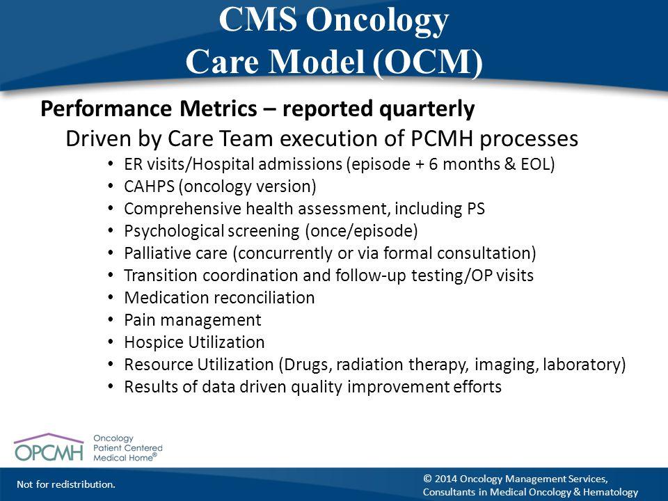 CMS Oncology Care Model (OCM)