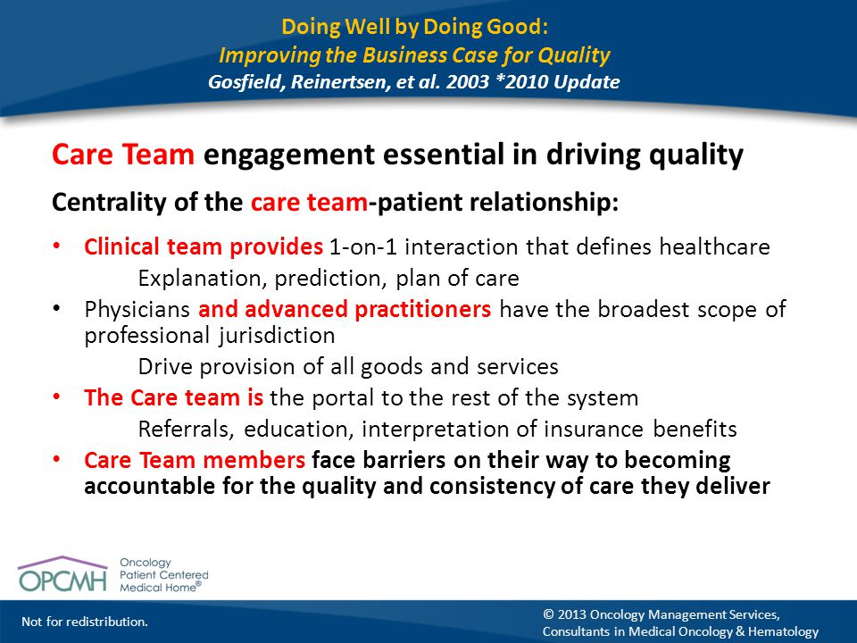 Care Team engagement essential in driving quality