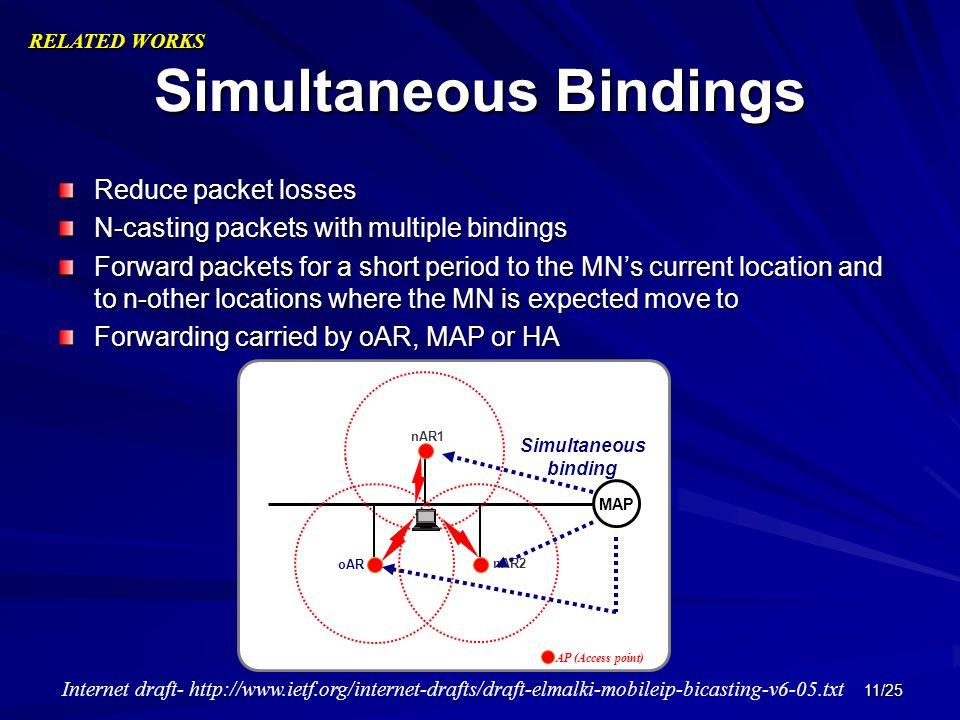Simultaneous Bindings