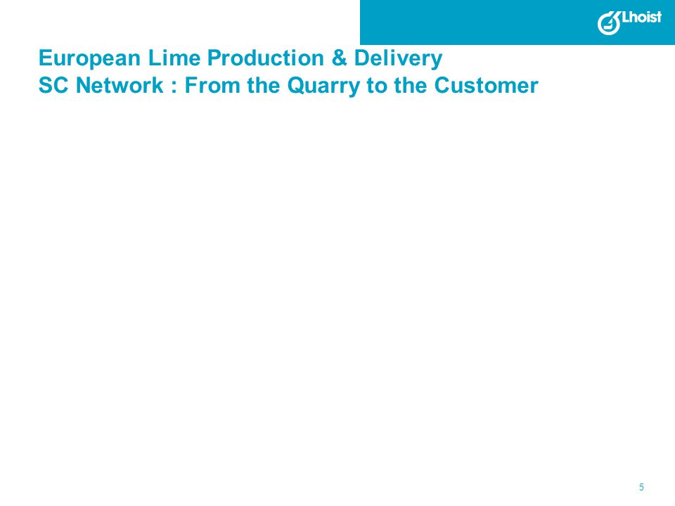European Lime Production & Delivery