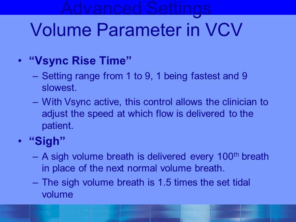 Advanced Settings Volume Parameter in VCV