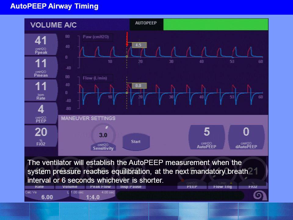 AutoPEEP Airway Timing