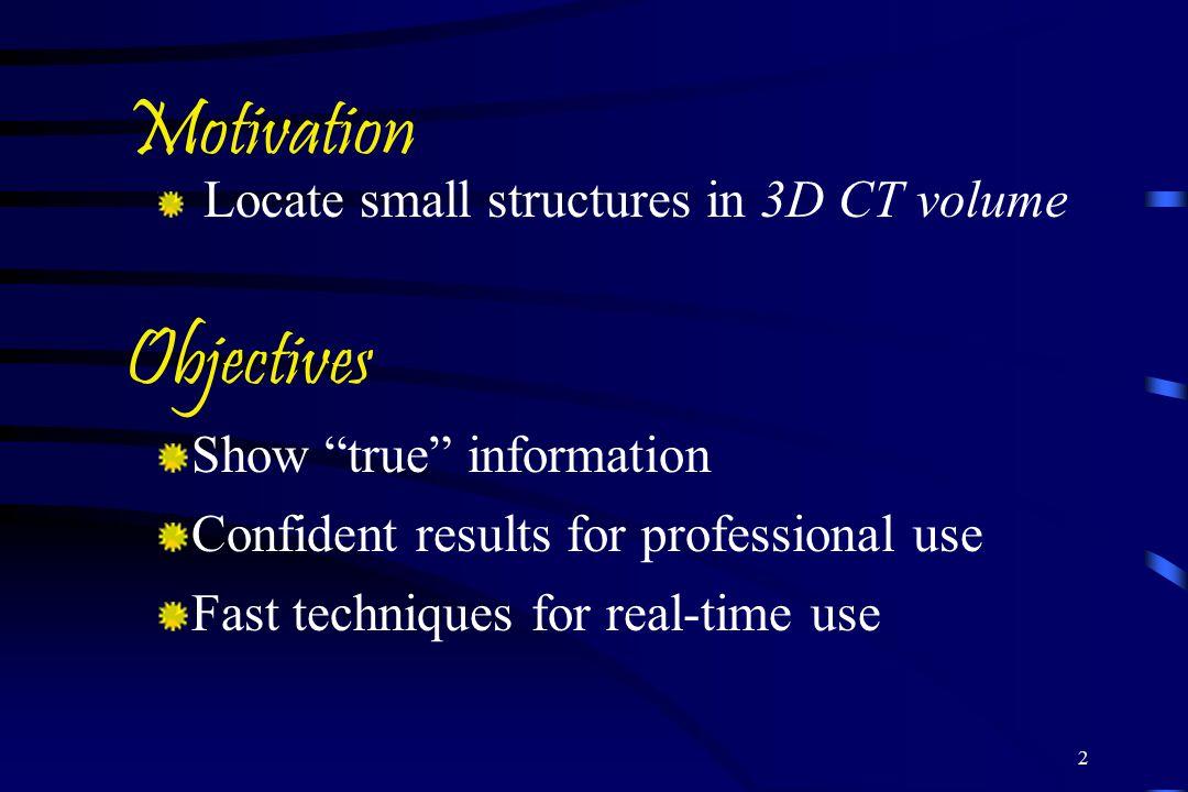 Motivation Objectives Show true information