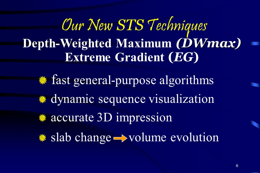 Depth-Weighted Maximum (DWmax) Depth-Weighted Maximum (DWmax)