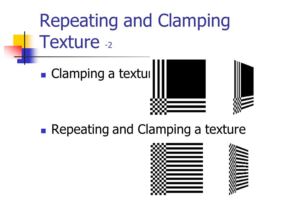 Repeating and Clamping Texture -2