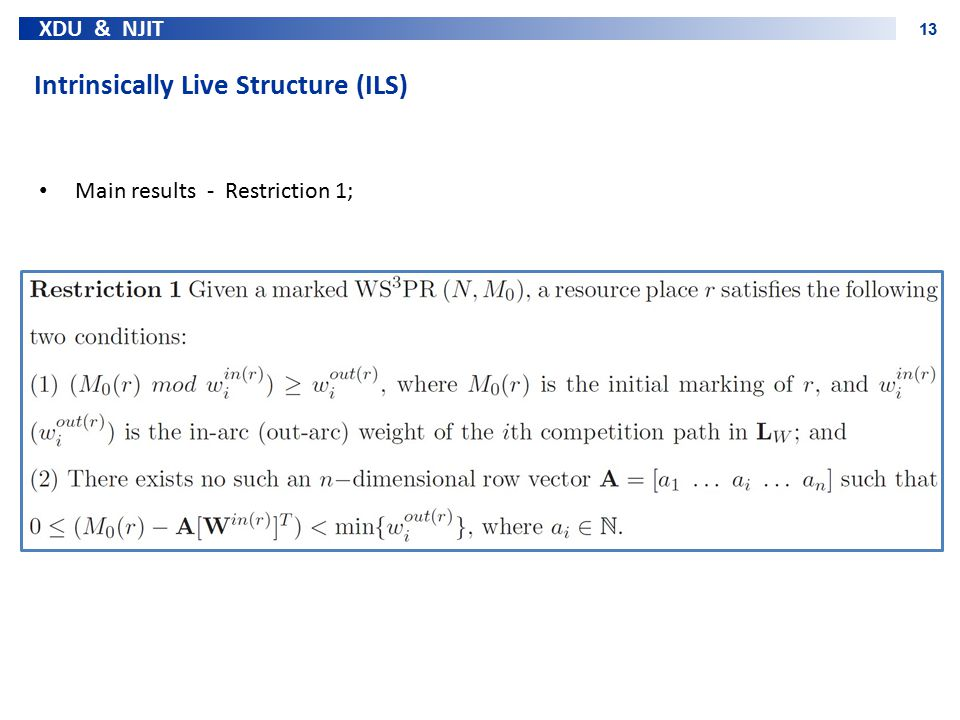 Intrinsically Live Structure (ILS)