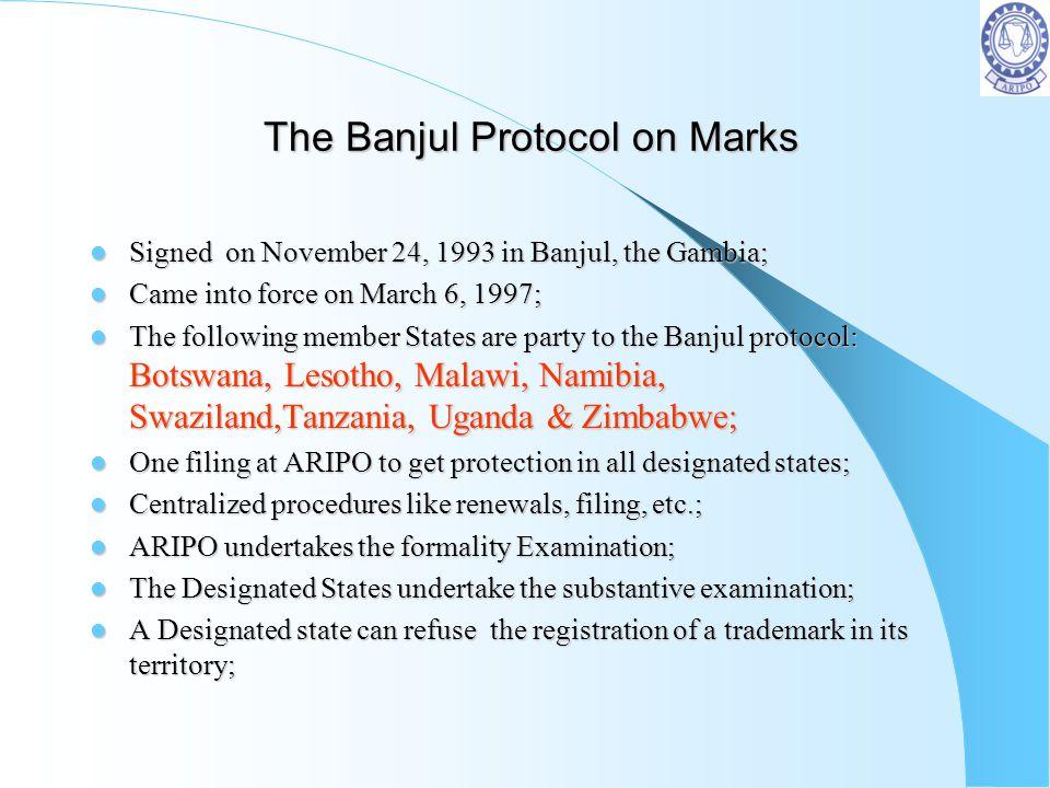 The Banjul Protocol on Marks