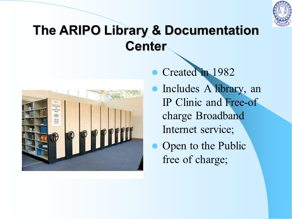 The ARIPO Library & Documentation Center
