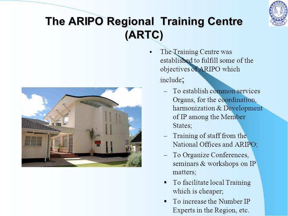 The ARIPO Regional Training Centre (ARTC)