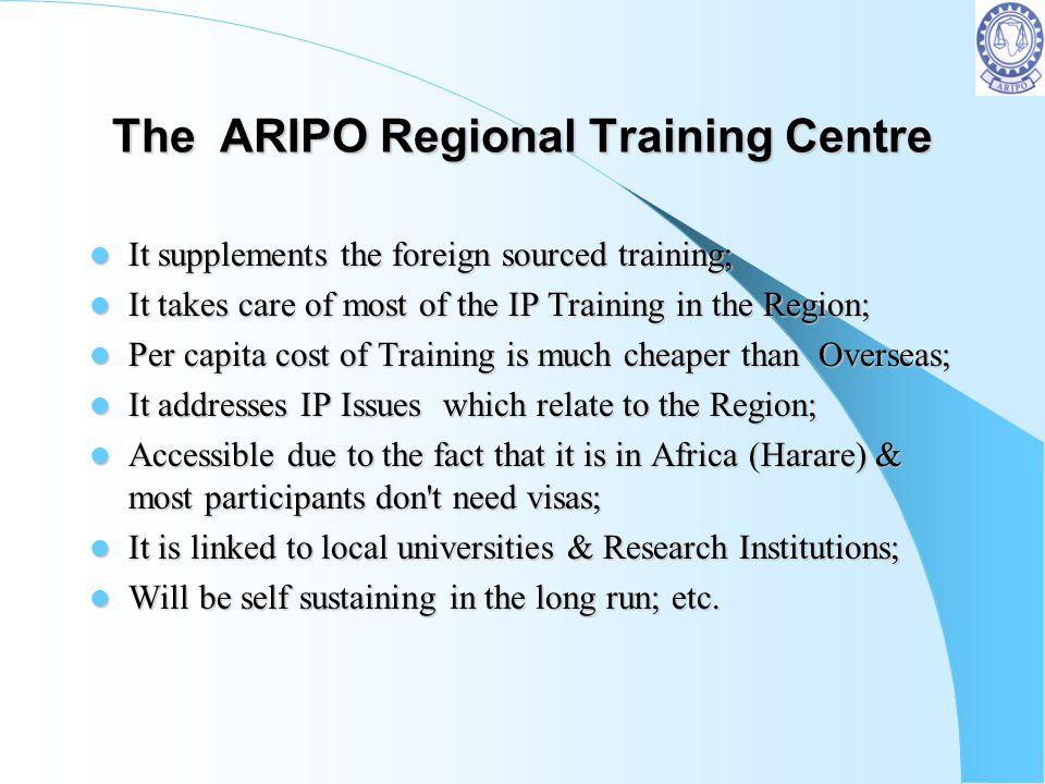 The ARIPO Regional Training Centre