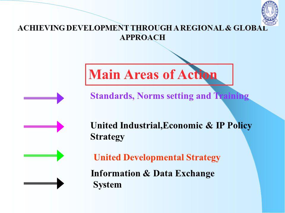 ACHIEVING DEVELOPMENT THROUGH A REGIONAL & GLOBAL APPROACH