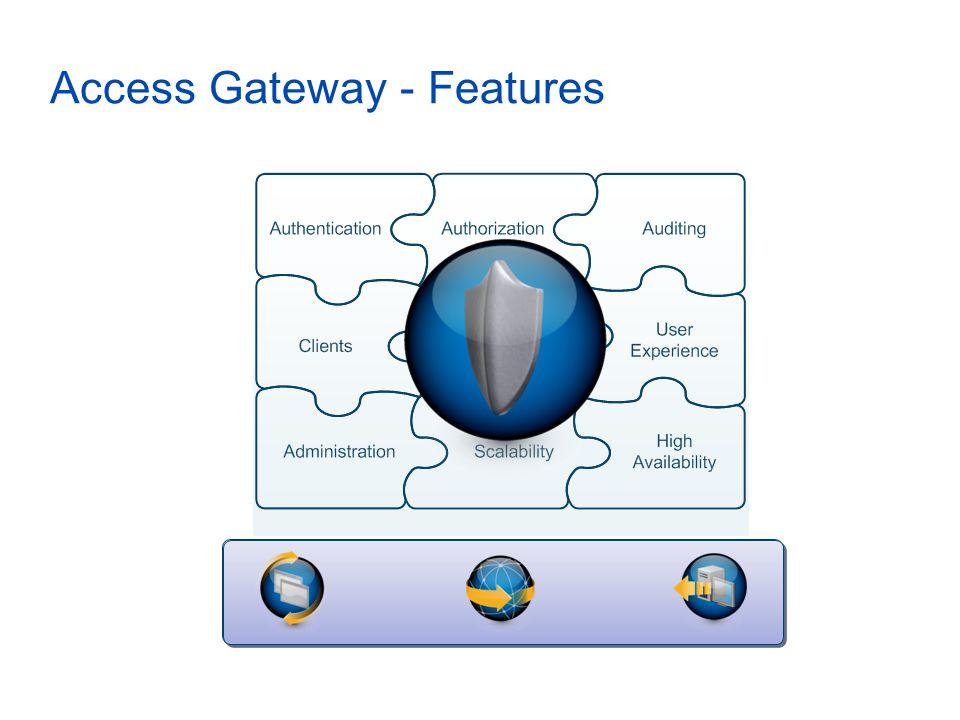 Access Gateway - Features