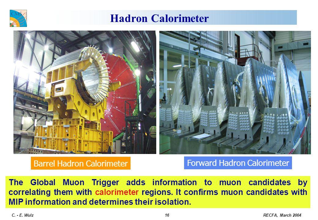 Hadron Calorimeter Barrel Hadron Calorimeter