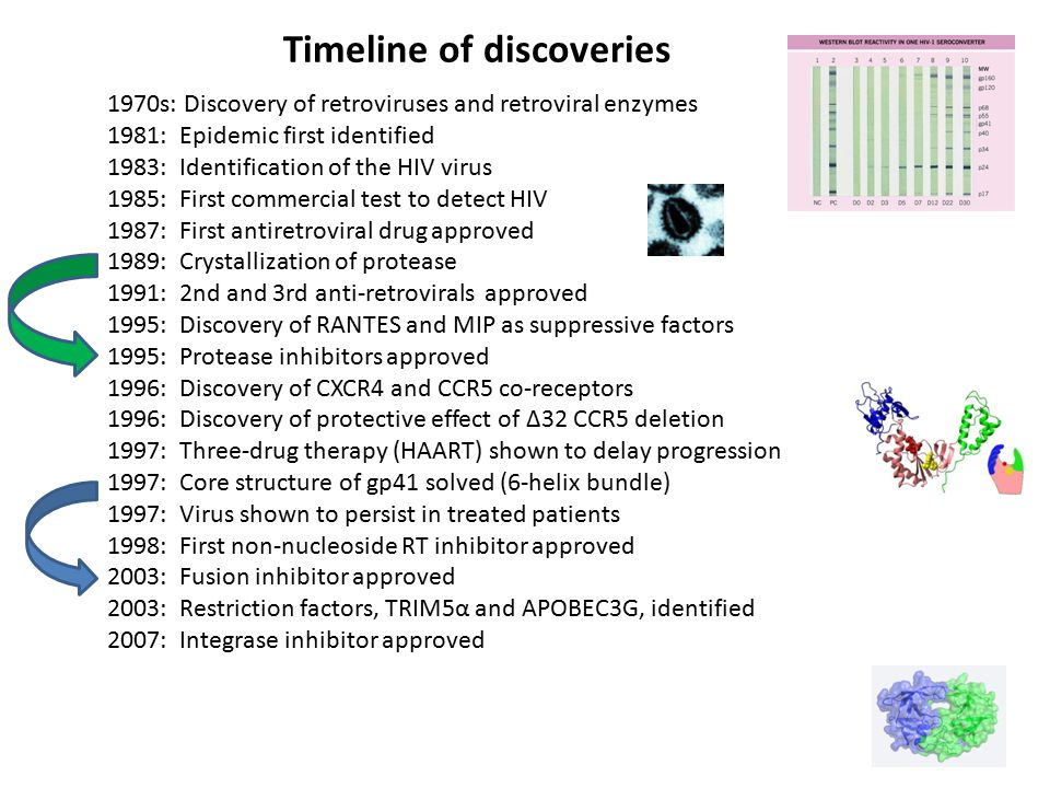 Timeline of discoveries
