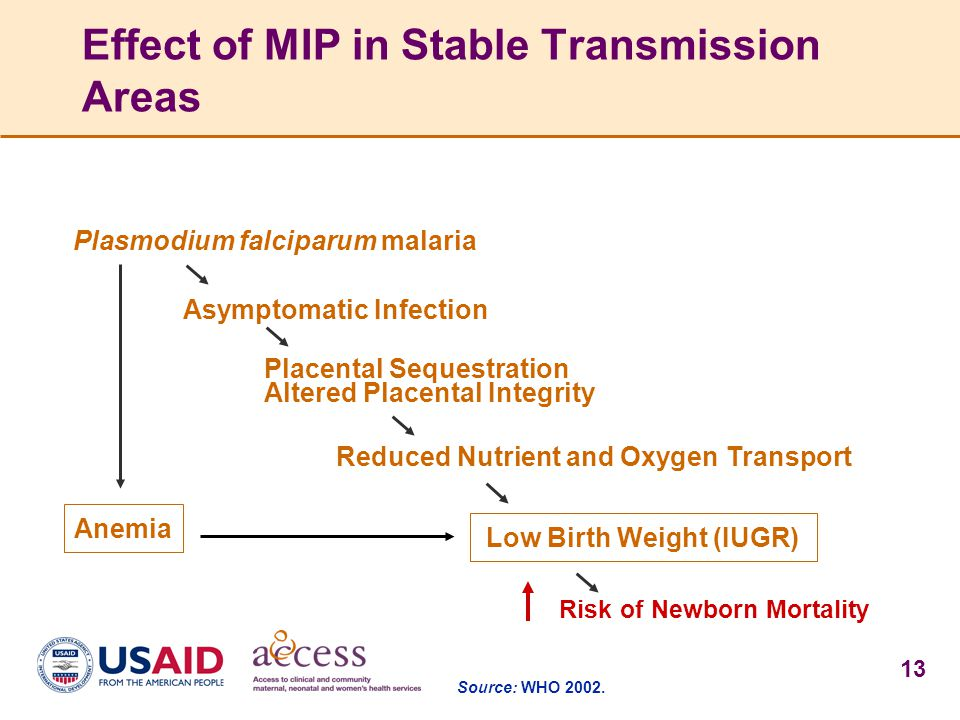Effect of MIP in Stable Transmission Areas