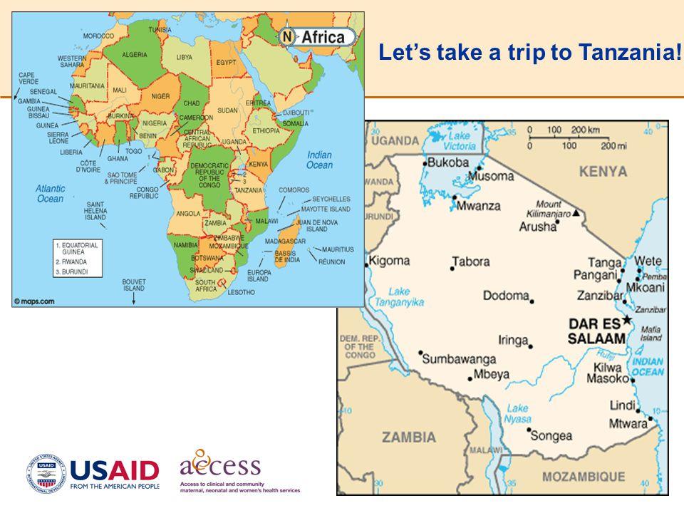 Let's take a trip to Tanzania!