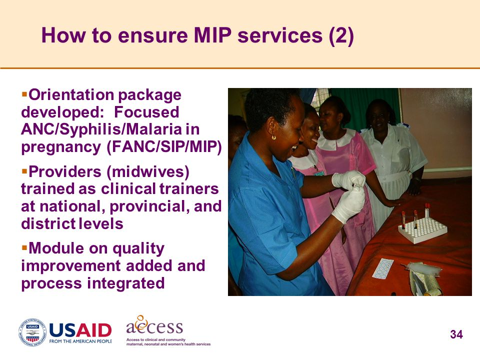 How to ensure MIP services (2)