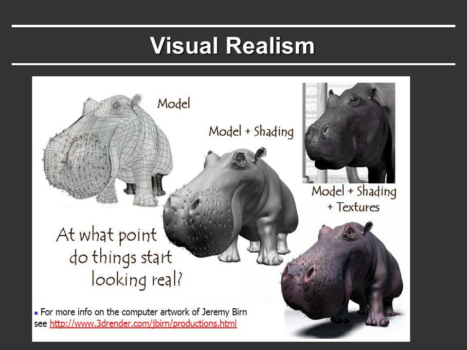 Visual Realism