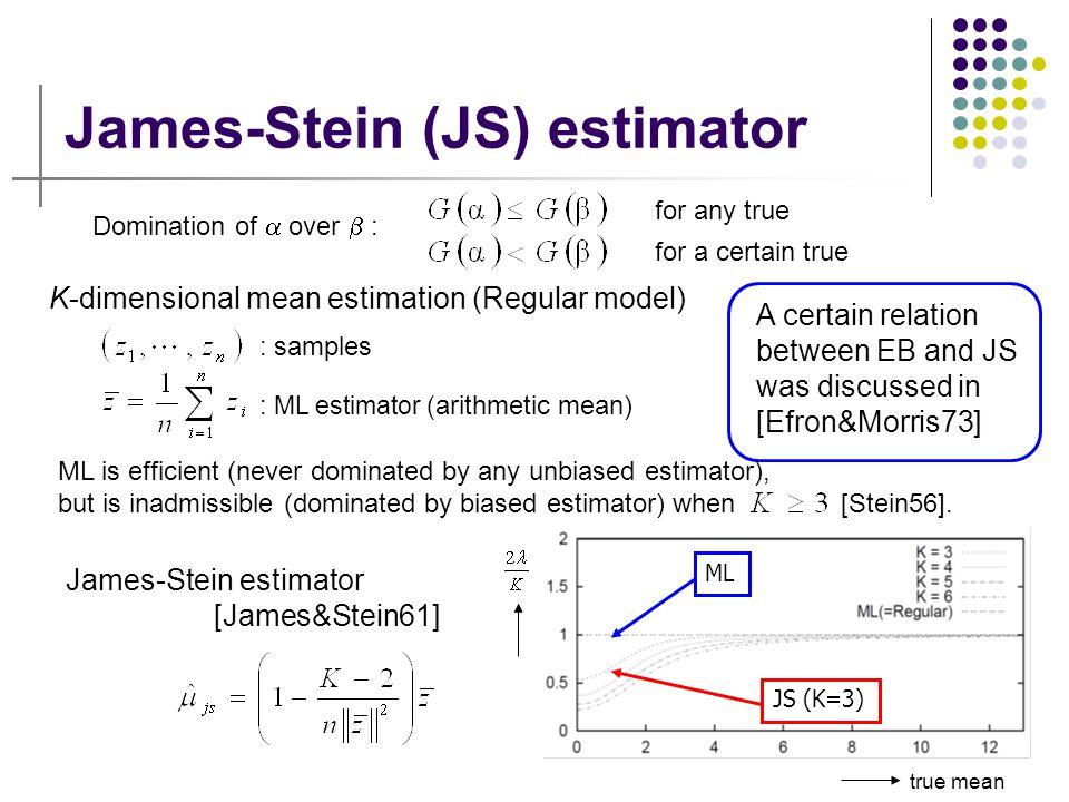 James-Stein (JS) estimator