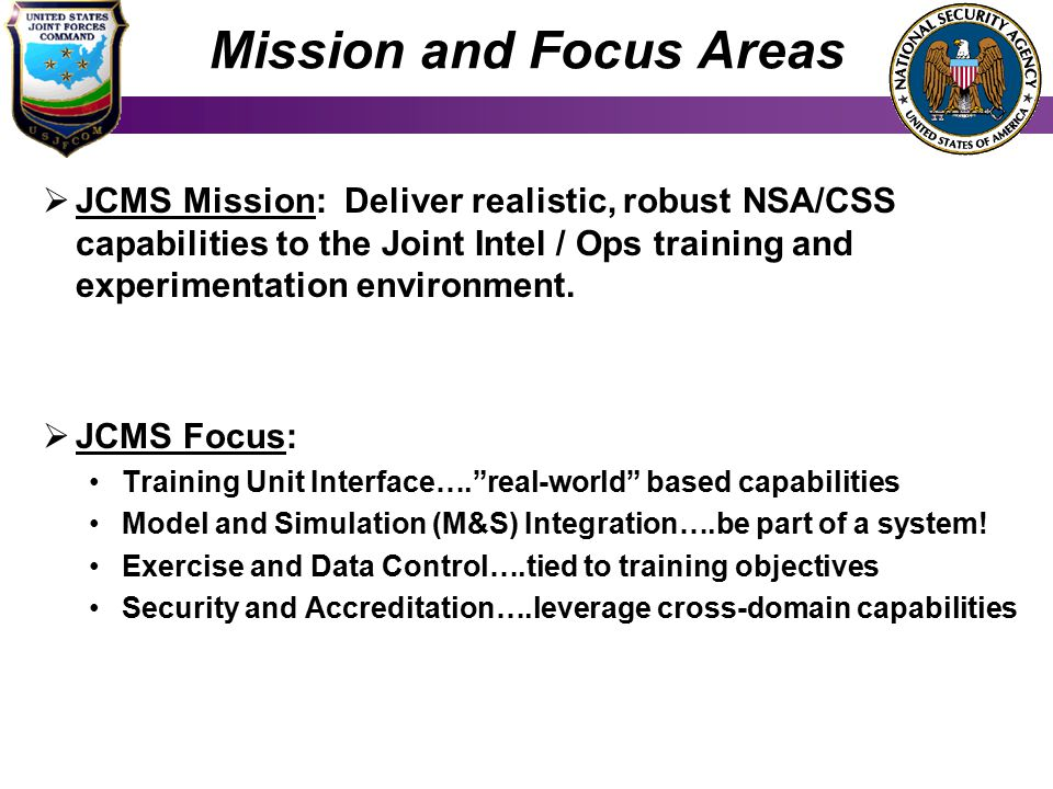 Mission and Focus Areas