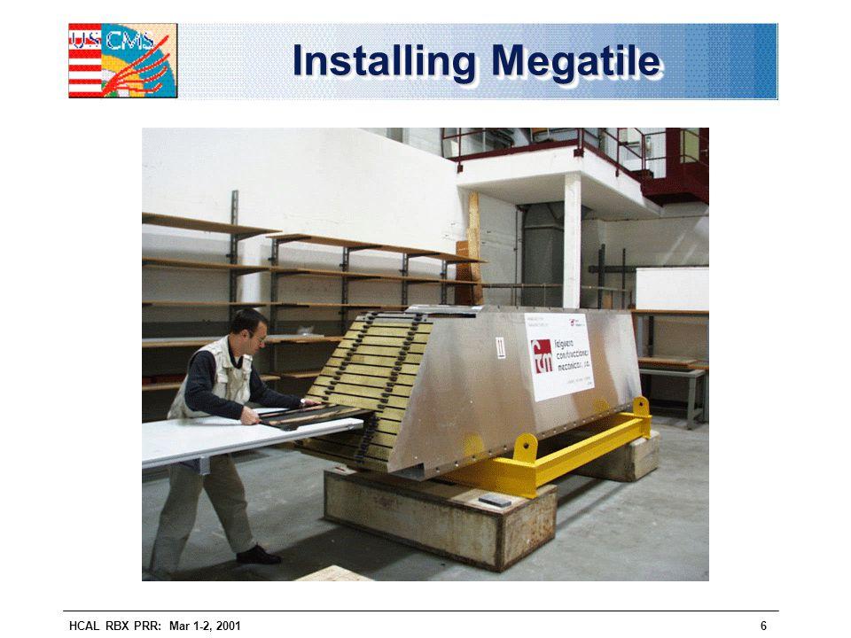 Installing Megatile