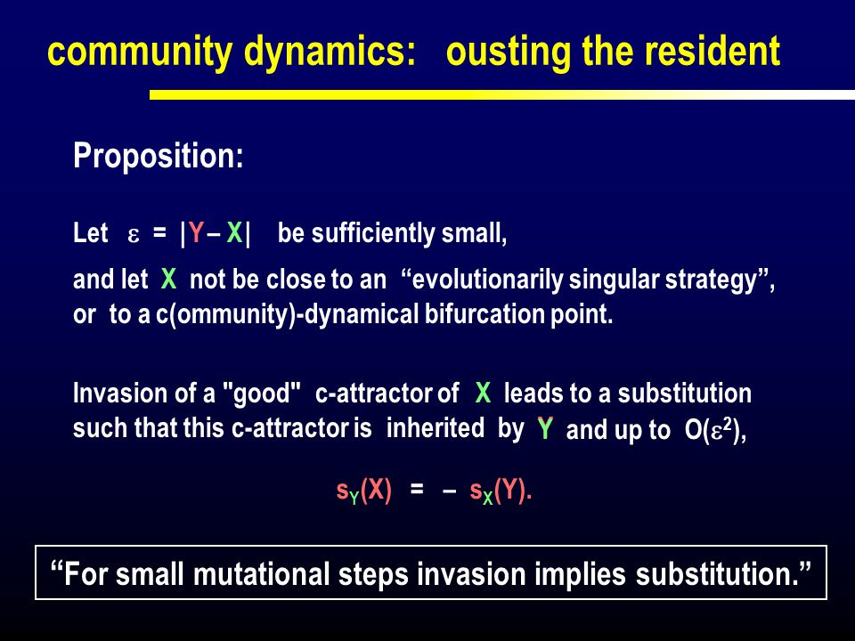 For small mutational steps invasion implies substitution.