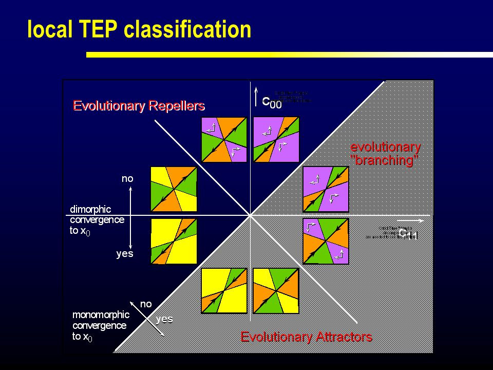 local TEP classification