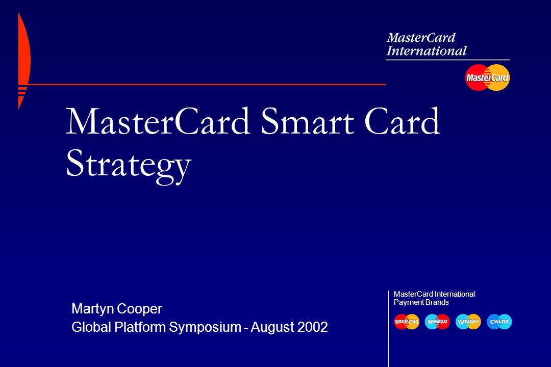 MasterCard Smart Card Strategy