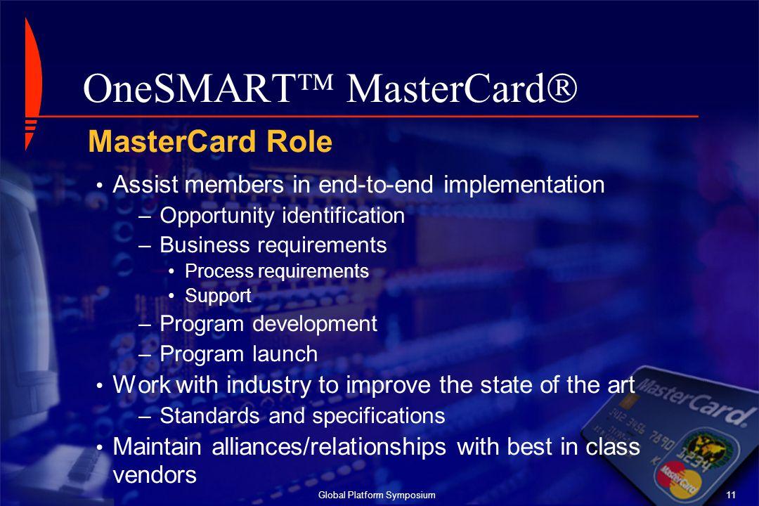 OneSMART MasterCard