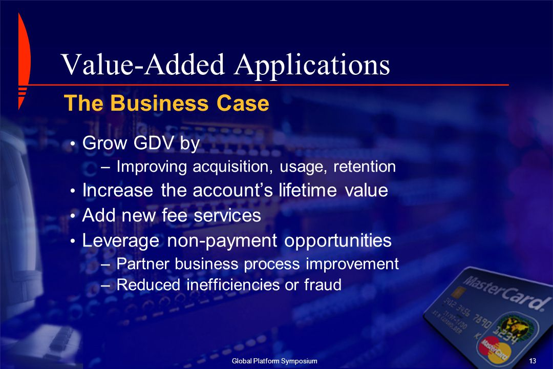 Value-Added Applications