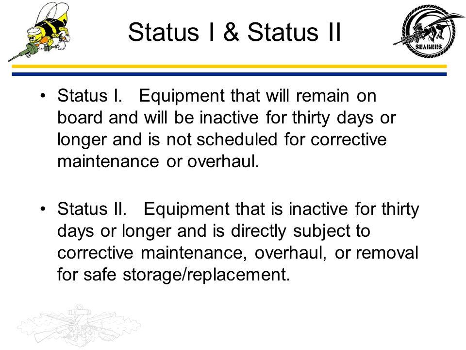 Status I & Status II