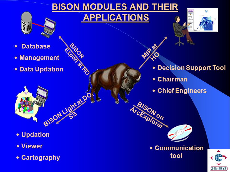 BISON MODULES AND THEIR APPLICATIONS