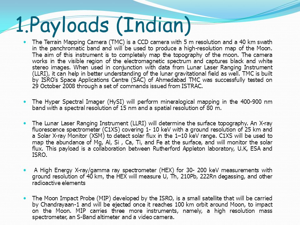 1.Payloads (Indian)