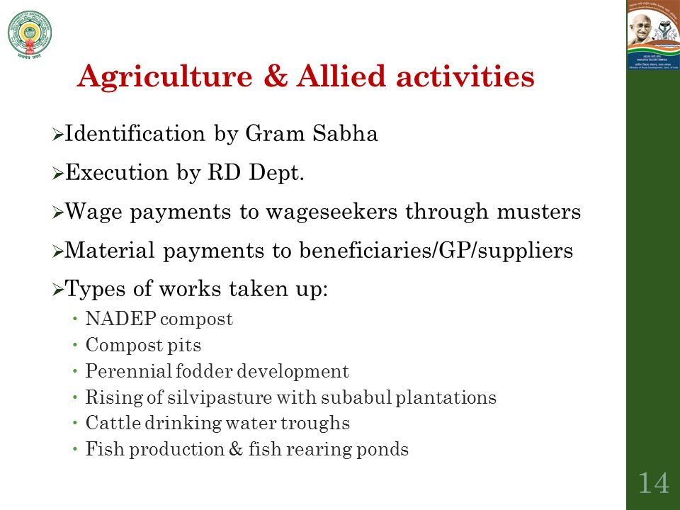 Agriculture & Allied activities