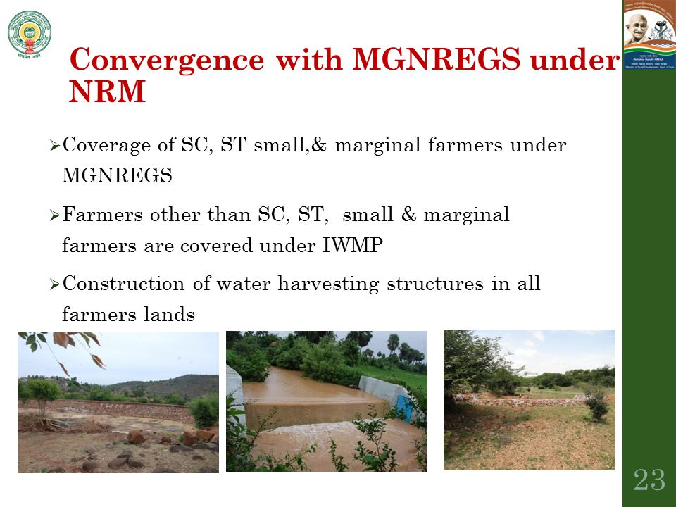 Convergence with MGNREGS under NRM